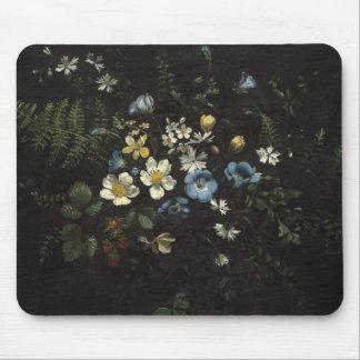 Alfombrilla De Ratón Aerosol de flores y de helechos de Titian Ramsay