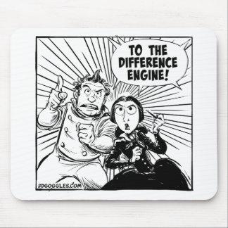 Alfombrilla De Ratón Al motor de diferencia Mousemat