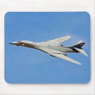 Alfombrilla De Ratón Alas del bombardero del lancero de B-1B barridas