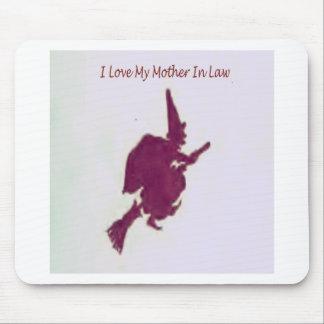 Alfombrilla De Ratón Amo a mi madre en law1