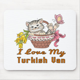 Alfombrilla De Ratón Amo a mi Van turco