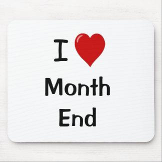 Alfombrilla De Ratón Amo el fin de mes