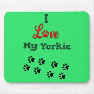 Alfombrilla De Ratón Amo mi Yorkie Mousepad