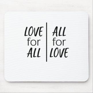 Alfombrilla De Ratón Amor para todos, todos para el amor