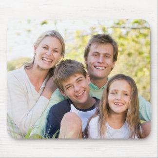 Alfombrilla De Ratón Amor y sonrisa felices de la familia
