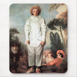 Alfombrilla De Ratón ANTOINE WATTEAU - Pierrot (Gil) 1718