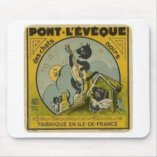 Alfombrilla De Ratón Anuncio del francés del vintage