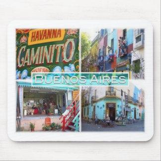 Alfombrilla De Ratón AR la Argentina - calle de Buenos Aires - de