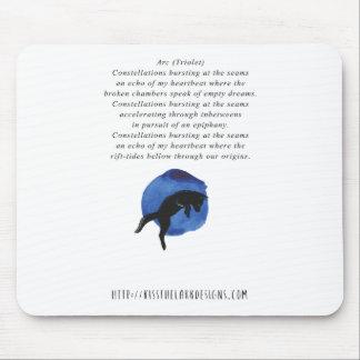 Alfombrilla De Ratón Arco - poesía de Jessica Fuqua