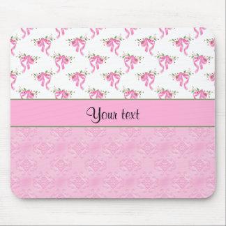 Alfombrilla De Ratón Arcos románticos del rosa y damasco rosado bonito