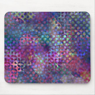 Alfombrilla De Ratón Arte abstracto multicolor de Digitaces