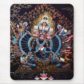 Alfombrilla De Ratón Arte budista tibetano (Chemckok Heruka)