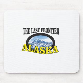 Alfombrilla De Ratón arte del logotipo de Alaska