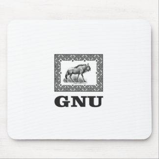Alfombrilla De Ratón Arte del poder del Gnu