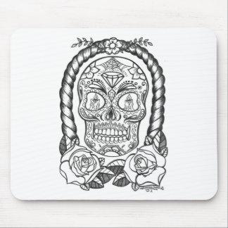 Alfombrilla De Ratón Arte del tatuaje de Sugarskull por Sweetpieart