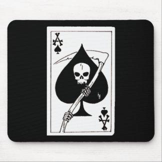 Alfombrilla De Ratón As de la tarjeta de las espadas de la muerte