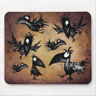 Alfombrilla De Ratón Asesinato de cuervos