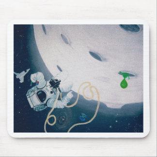 Alfombrilla De Ratón Astronauta y luna