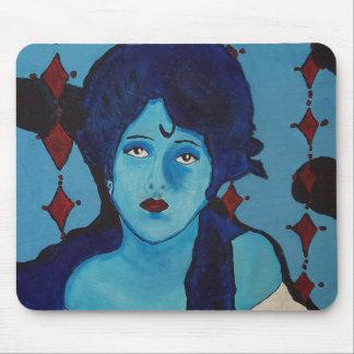 Alfombrilla De Ratón Azul de Evelyn