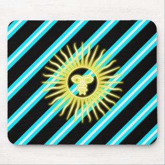 Alfombrilla De Ratón Bandera argentina de las rayas