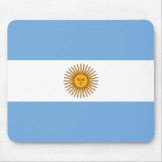 Alfombrilla De Ratón Bandera argentina patriótica