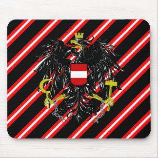Alfombrilla De Ratón Bandera austríaca de las rayas