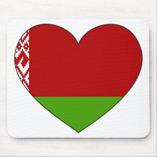Alfombrilla De Ratón Bandera de Bielorrusia simple