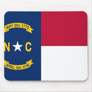 Alfombrilla De Ratón Bandera de Carolina del Norte