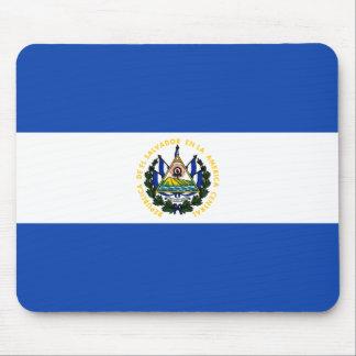 Alfombrilla De Ratón Bandera de El Salvador
