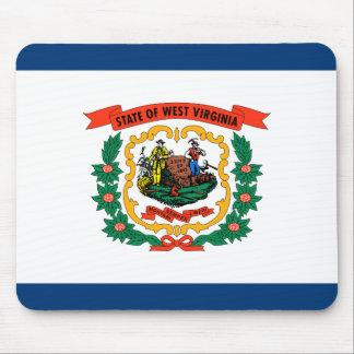 Alfombrilla De Ratón Bandera de Virginia Occidental