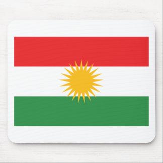 Alfombrilla De Ratón Bandera del Kurdistan; Kurd; Kurdo