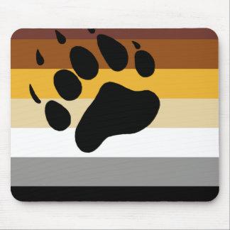 Alfombrilla De Ratón Bandera del orgullo del oso