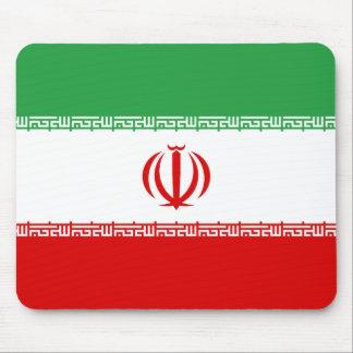 Alfombrilla De Ratón Bandera nacional del mundo de Irán