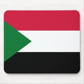 Alfombrilla De Ratón Bandera nacional del mundo de Sudán