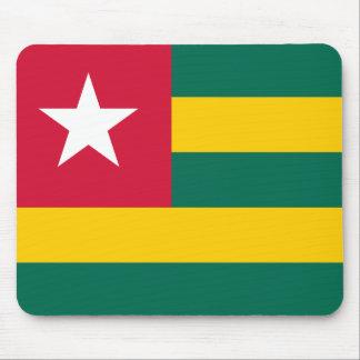 Alfombrilla De Ratón Bandera nacional del mundo de Togo