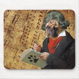Alfombrilla De Ratón Barkthoven - el barro amasado de Beethoven