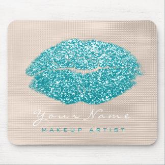 Alfombrilla De Ratón Beso de marfil de los labios del maquillaje del