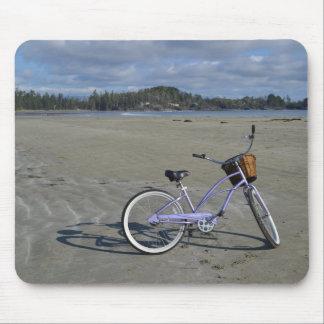 Alfombrilla De Ratón Bicicleta en la playa