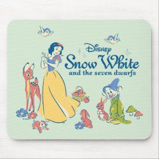 Alfombrilla De Ratón Blanco como la nieve y narcotizado con los amigos