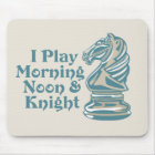 Alfombrilla De Ratón Caballero del ajedrez
