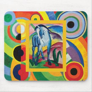 Alfombrilla De Ratón Caballo azul I de Franz Marc