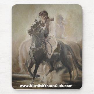 Alfombrilla De Ratón Caballo kurdo, caballo kurdo