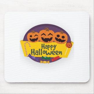 Alfombrilla De Ratón Calabaza del feliz Halloween