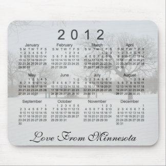 Alfombrilla De Ratón Calendario escénico 2012