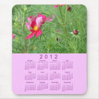 Alfombrilla De Ratón Calendario floral 2012