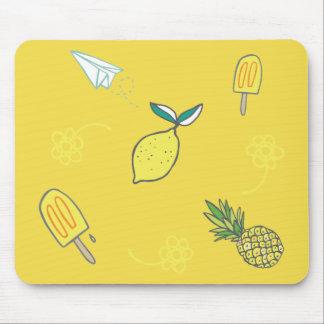 Alfombrilla De Ratón Calidad Lemony del verano