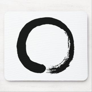Alfombrilla De Ratón Caligrafía del zen del círculo de Enso