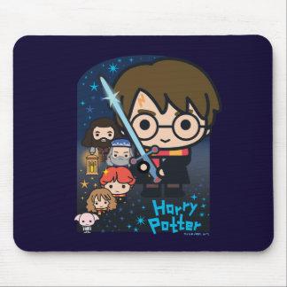 Alfombrilla De Ratón Cámara de Harry Potter del dibujo animado de