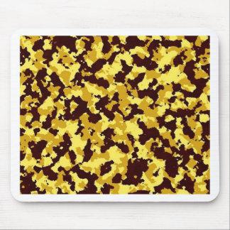 Alfombrilla De Ratón Camuflaje amarillo