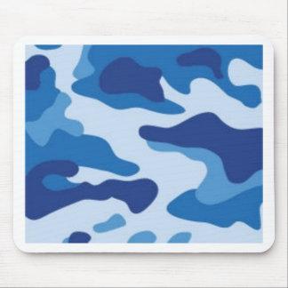Alfombrilla De Ratón Camuflaje azul